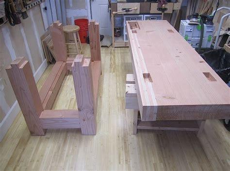 roubo  douglas fir  woodworking tools diy woodworking woodworking bench