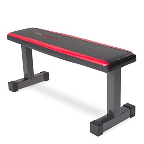 cap barbell flat bench cap barbell memory foam flat bench black red lifestyle