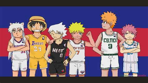 basketball jerseys anime crossover by