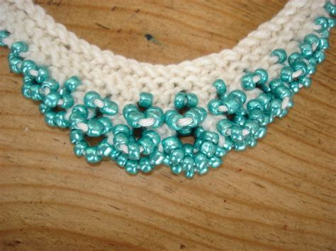 bead knitting beaded knitting purdy peas