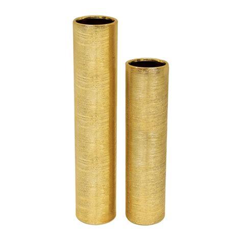 Plastic Vase Cylinder 16 Inch Tall Etched Gold Ceramic Cylinder Vase Vase Market