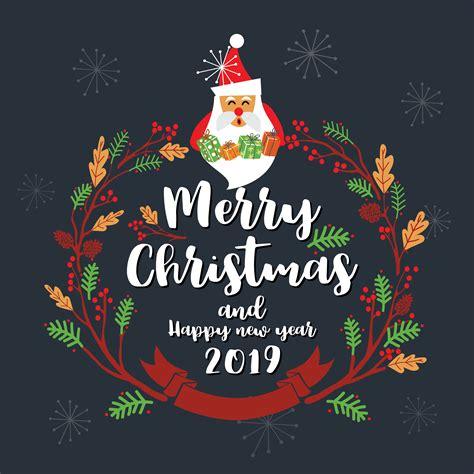 merry christmas greeting card design vector illustration   vectors clipart