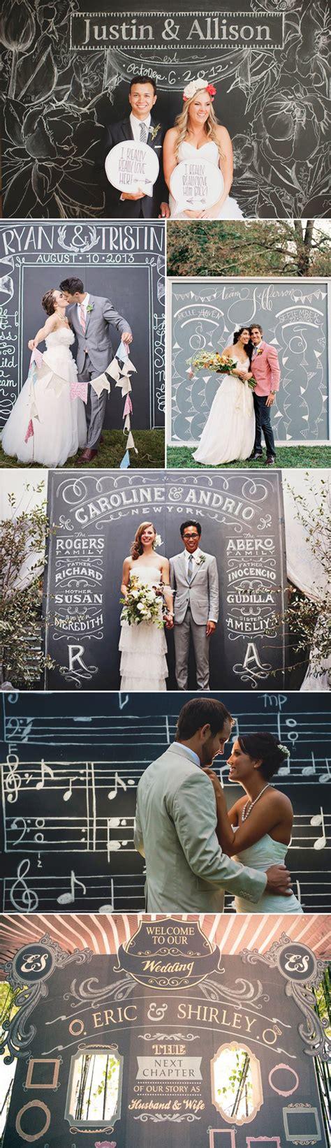 diy chalkboard wedding backdrop 53 creative wedding photo backdrops deer pearl flowers
