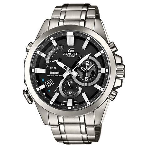 Edifice Casio Stainless casio edifice s stainless steel bluetooth h samuel