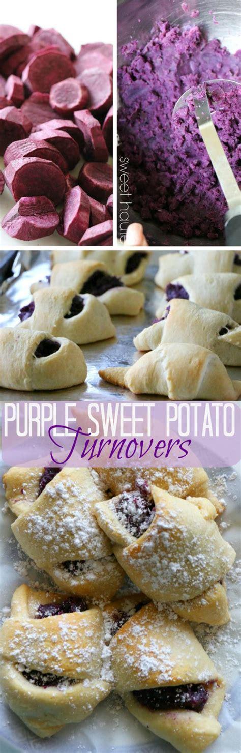 haute christmas dessert purple sweet potato turnovers sweet haute benimo ube recipe treats