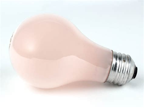 soft pink light bulbs sylvania 60 watt 120 volt a19 pink 60a stp pk