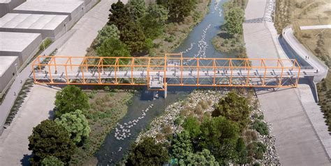 yard bridge three new ped bike bridges coming to the l a river