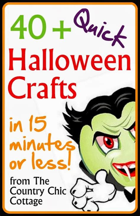 8 quick and easy halloween craft decoration ideas rent craft lightning archives page 4 of 7 the country chic
