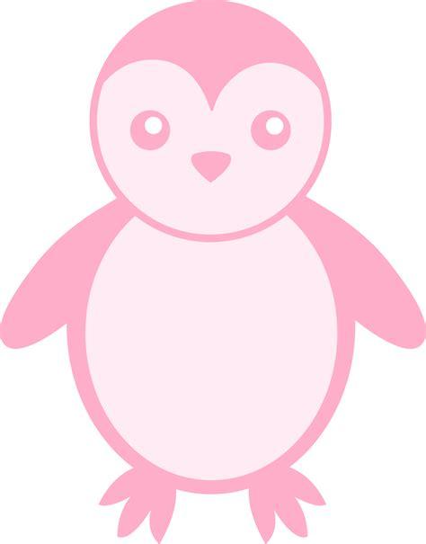 Pink Penguin pink baby penguin free clip