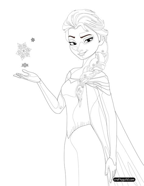 elsa coloring pages pdf queen elsa coloring page 1 crafty guild