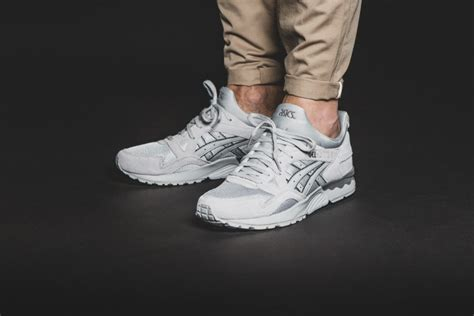 Asics Gel Lyte V Light Out Pack White Grey asics gel lyte v quot lights out quot pack le site de la sneaker