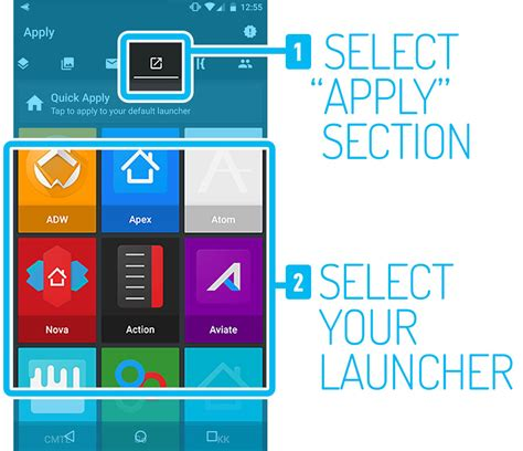 themes or launcher how to apply android icon packs themes quick guide