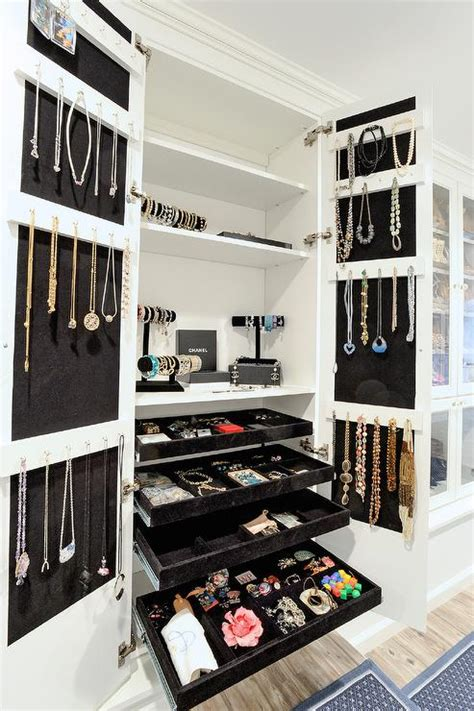 All About Closets by Closet Design Ideas Features White Closet Doors With Gold Hardware By One Closet