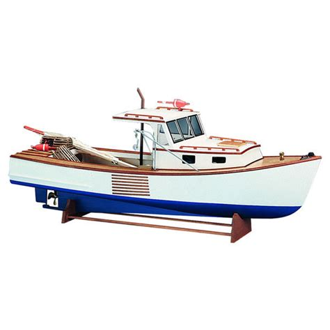 midwest lobster boat kit midwest products 964 boothbay lobster r c boat kit w