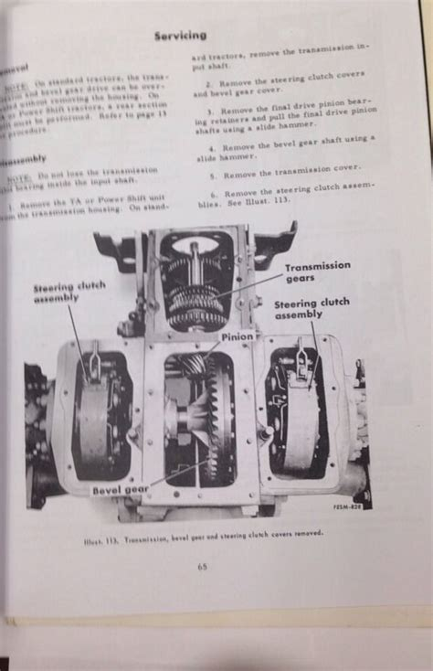 international ih dresser  crawler tractor service manual form gss  finney equipment