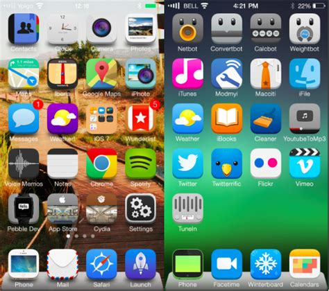 themes for iphone ios 7 the 12 best ios 7 themes for iphone