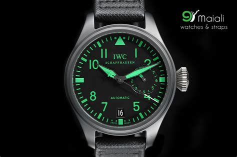 Iwc Green Angka Green iwc big pilot s top gun boutique edition green iwc501903