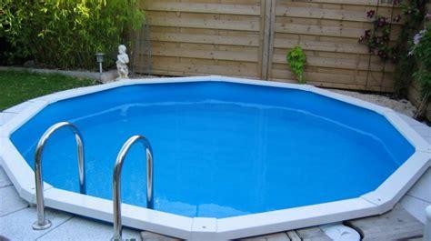 runder pool im garten stahlwand schwimmbecken riva der kleine pool f 252 r den