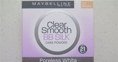Bedak Maybelline Clear Smooth Bb Silk Poreless White The Blackmentos Box Review Maybelline Clear