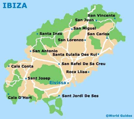 san jose map ibiza ibiza maps and orientation ibiza balearic islands spain