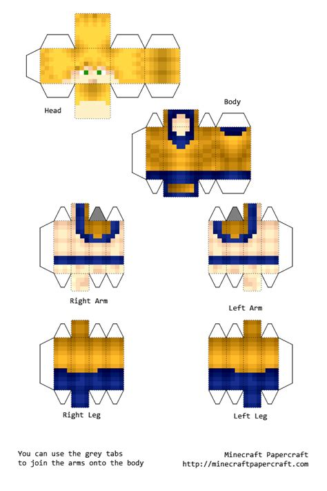 Minecraft Papercraft Boy - gallery papercraft minecraft boy skins