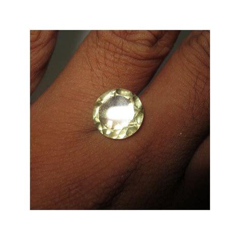 Batu Lemon Quartz Cutting E109 batu permata quartz lemon cut 4 40 carat
