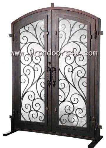 Iron Pantry Door by Wrought Iron Entry