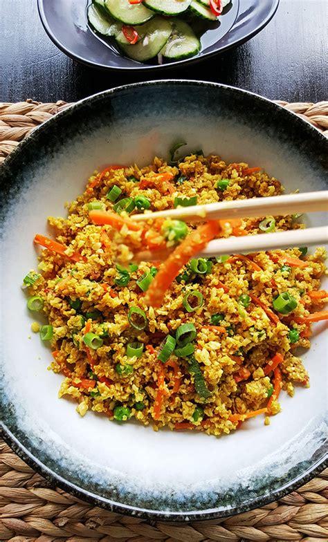 bloemkool nasi goreng gewoon een foodblog