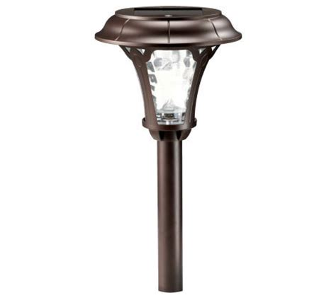solar landscape lighting qvc westinghouse solar florence solar light qvc