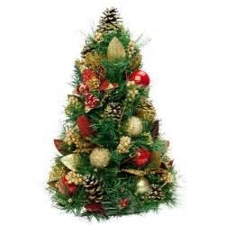 traditional tabletop christmas tree 42cm table