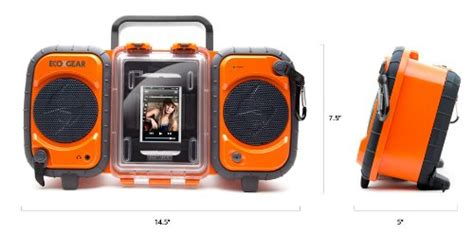 ecoxgear rugged and waterproof stereo boombox ecoxgear rugged and waterproof stereo boombox gdi aq2si60 in the uae see prices reviews and