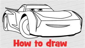 How To Draw Jackson Storm From Cars 3 Youtube Smokey The Coloring Pages