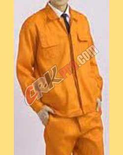 Kemeja Batik Emblem konveksi penjahit pakaian baju seragam kerja wanita pria