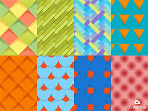 design pattern most used set of material design patterns uplabs