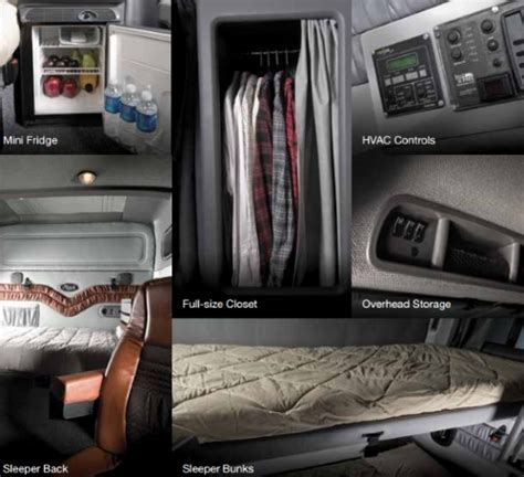 Inside Of Sleeper Trucks by Inside Semi Truck Sleepers Cdl Today