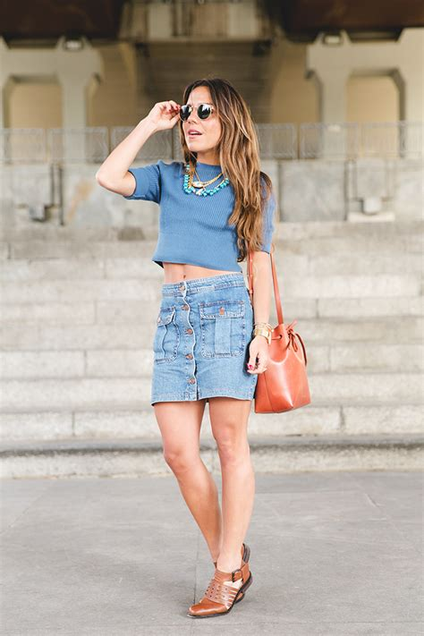 button front skirt is back with the new trendiness be modish