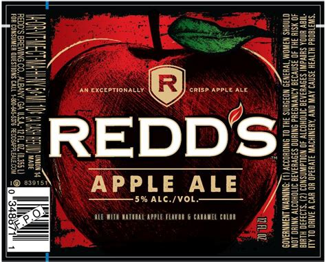 redd s redd s apple ale beerpulse