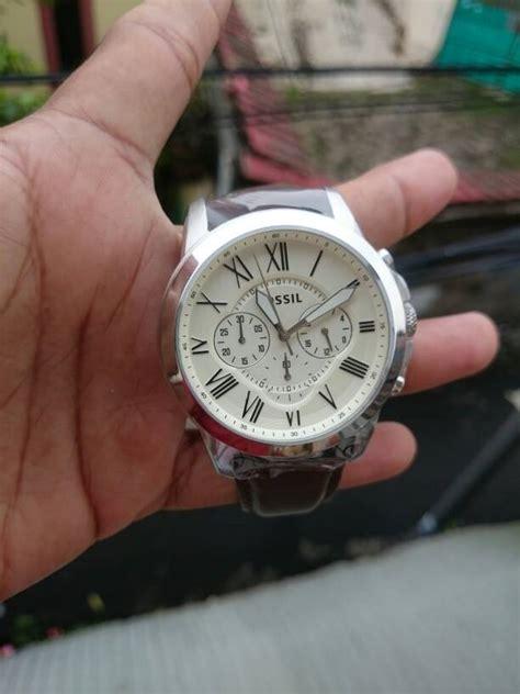 Promo Jam Tangan Pria Merk Fossil Originsl Fs4735 Batrai Free Jne promo jam tangan original fossil fs4735