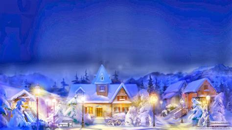 wallpaper christmas town old fashioned christmas town wallpaper collection 7