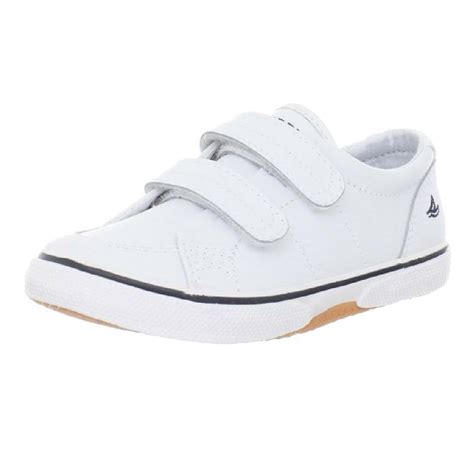 toddler boy white boat shoes sperry top sider halyard h l boat shoe toddler little kid