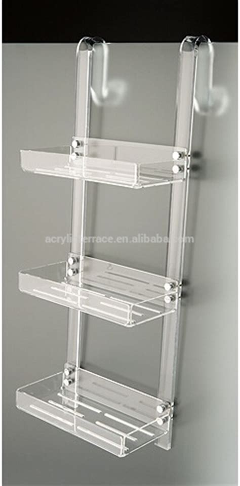 Acrylic Color Shower Caddy Buy Laser Cut Wall Hanging Acrylic Bathroom Shelves