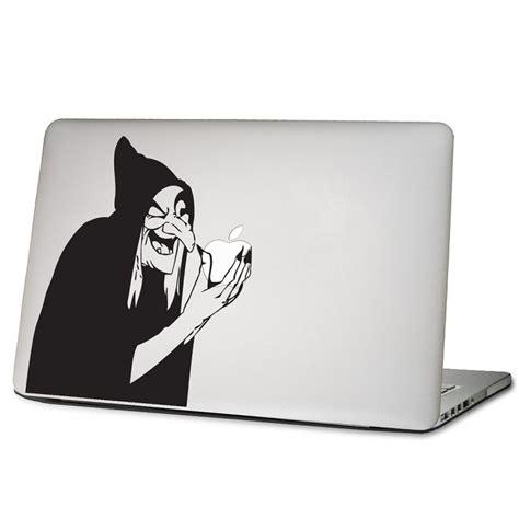 Apple Aufkleber Notebook by Hexe Laptop Macbook Sticker Aufkleber