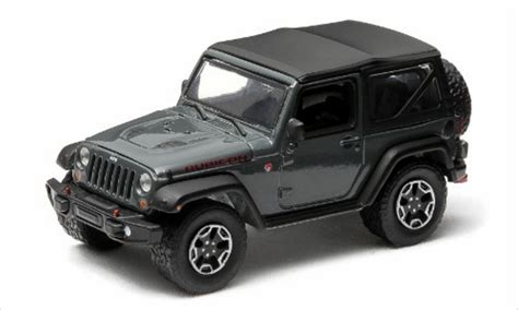 jeep wrangler rubicon x gray 2014 greenlight diecast model