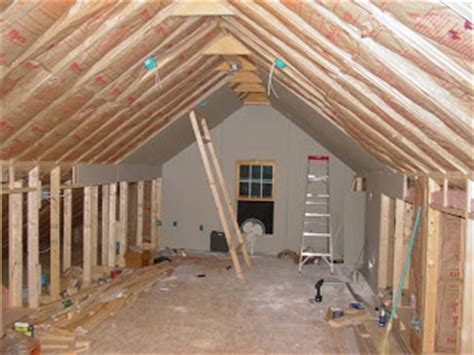 How To Finish An Attic Floor by Finishing The Attic