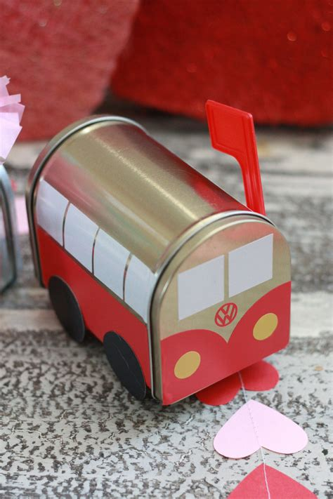 volkswagen valentines diy valentine s mailboxes with cricut everyday jenny