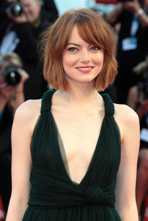 Hair Goals: Emma Stone's Copper Bob   Dutchie Love