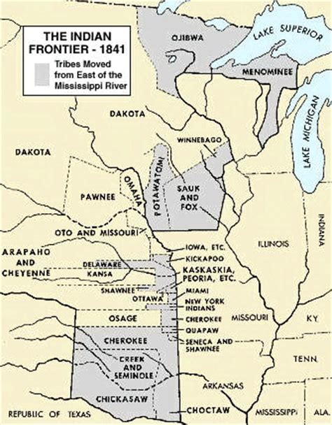 american movement map answers indian removal act relocation of american