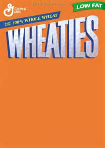 Wheaties Box Template by 19 Wheaties Box Psd Template Images Blank Wheaties Box