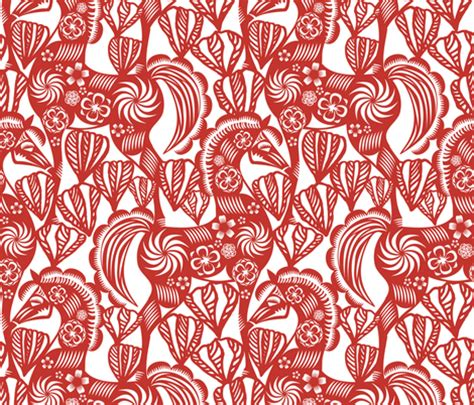 new year paper cutting patterns paper cutting designs spoonflower design challenge
