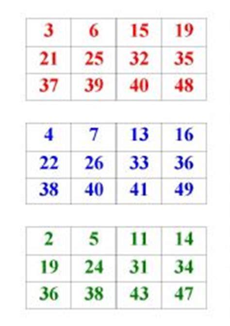 printable number bingo cards 1 50 english worksheets numbers bingo 1 50